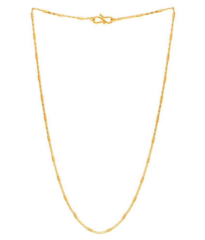 Dare by Voylla Sleek Link Chain Inspired by Golden Links