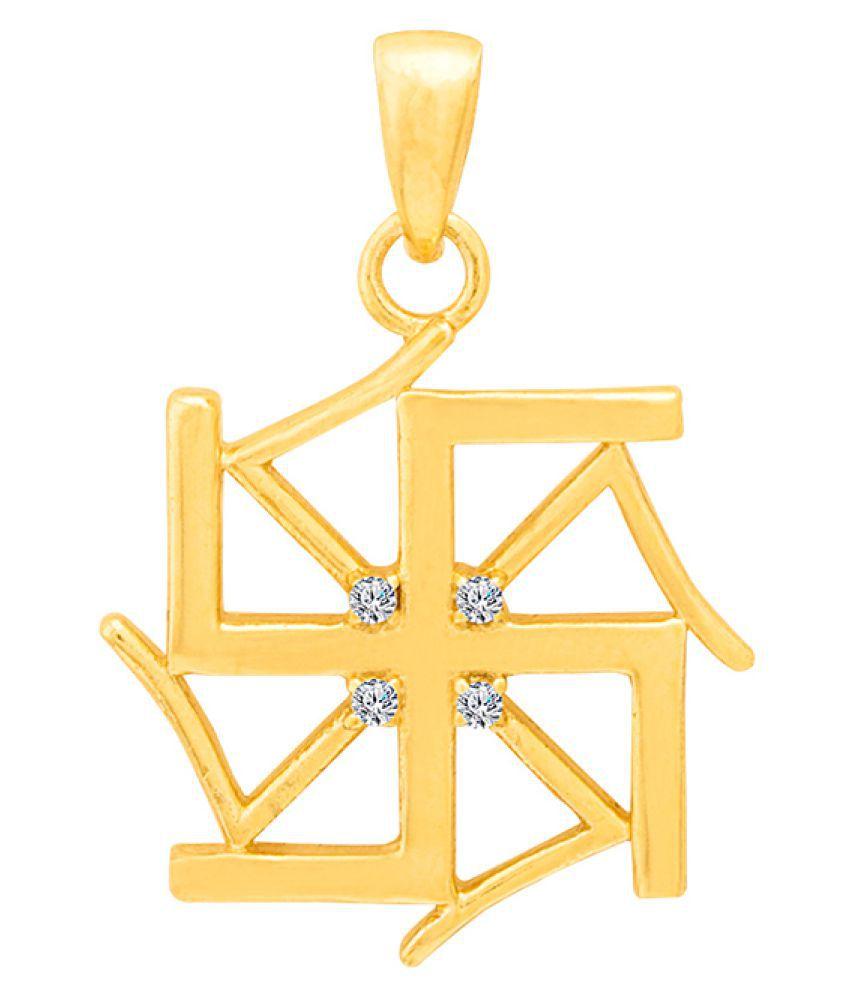 Dare by Voylla Spiritual Saga Divine Swastika Pendant