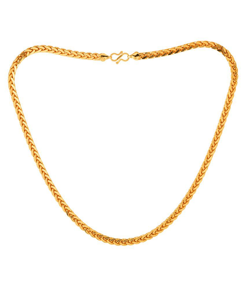 Dare by Voylla Interlinked Designer Bold Chain For Men