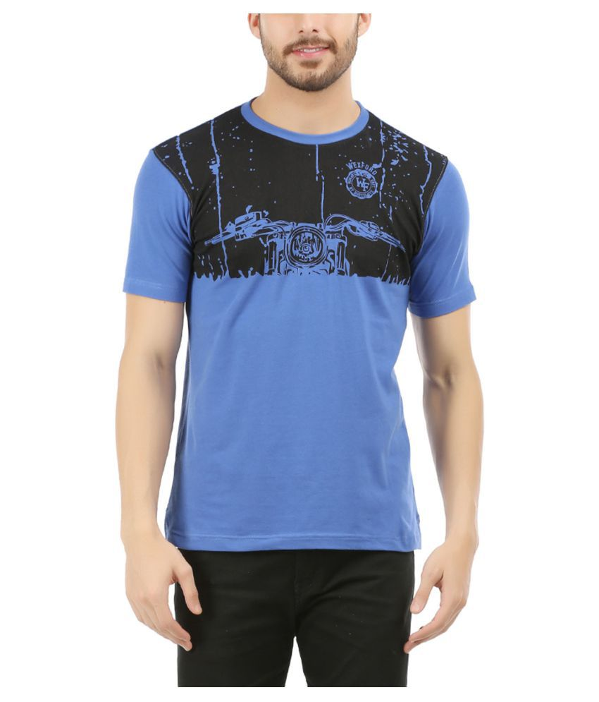 Wexford Blue Round T-Shirt Pack of 1