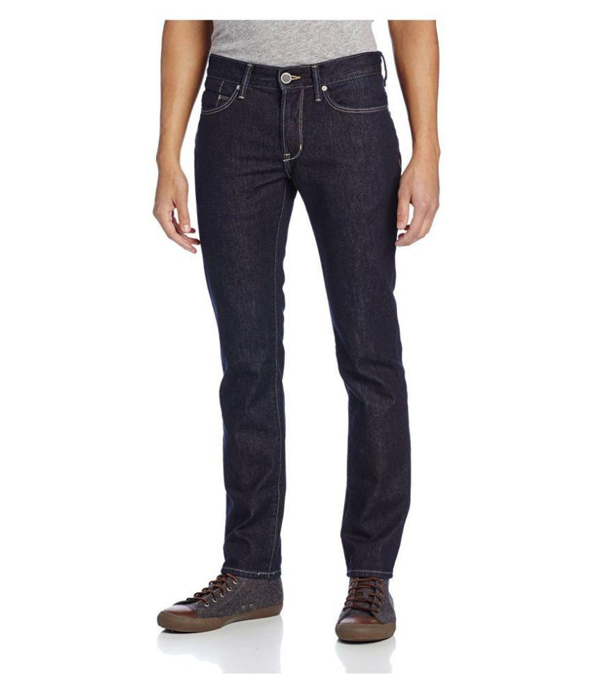 DKNY Jeans Indigo Blue Straight Jeans