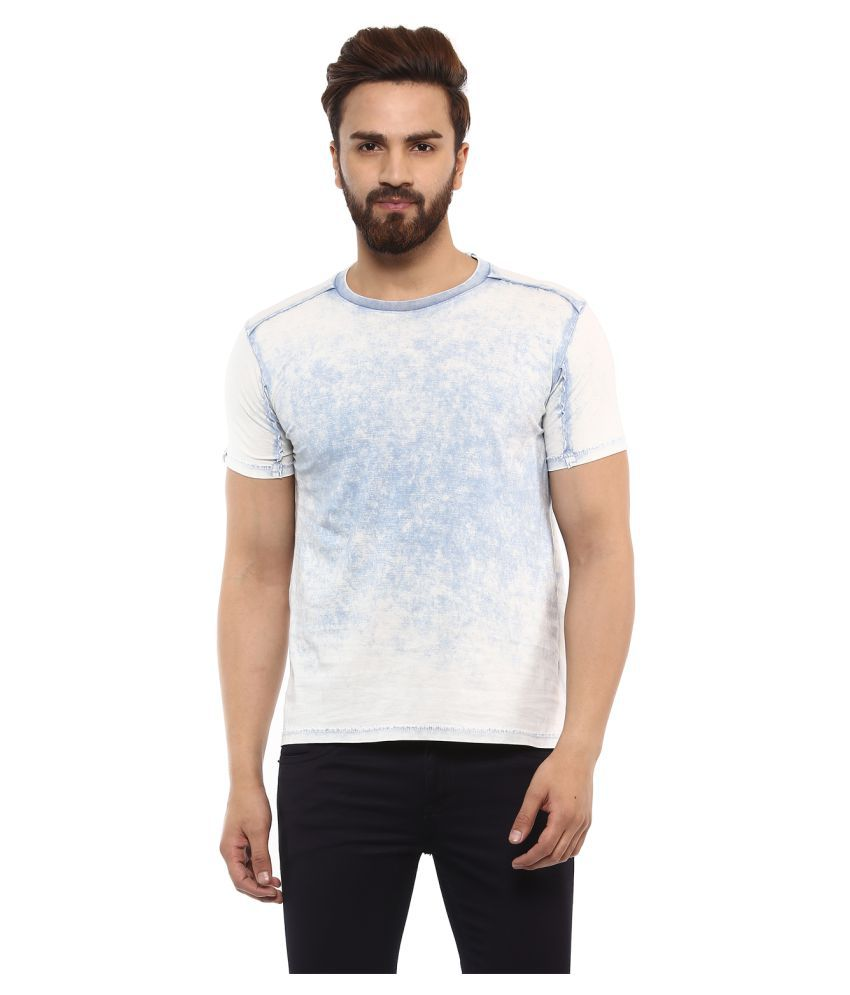 Mufti Blue Round T-Shirt Pack of 1