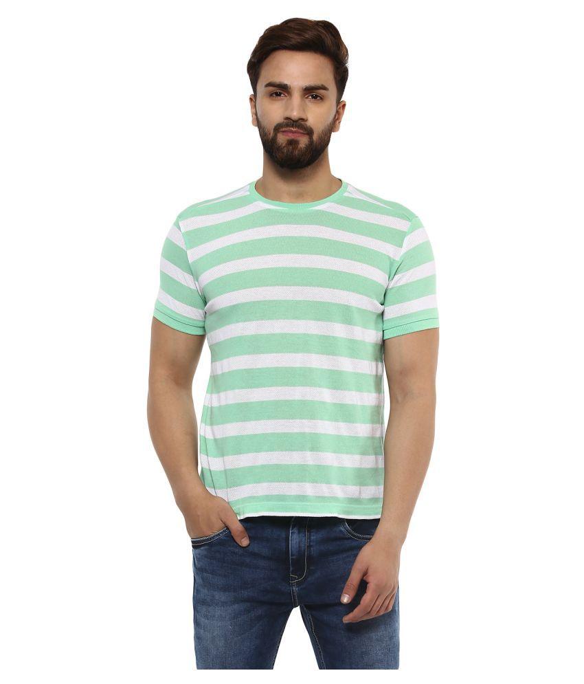 Mufti Green Round T-Shirt Pack of 1