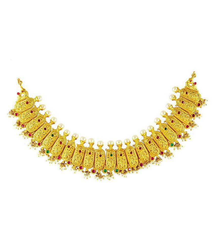 UG PRODUCTS NECKLACE WITH STUDS (M22)