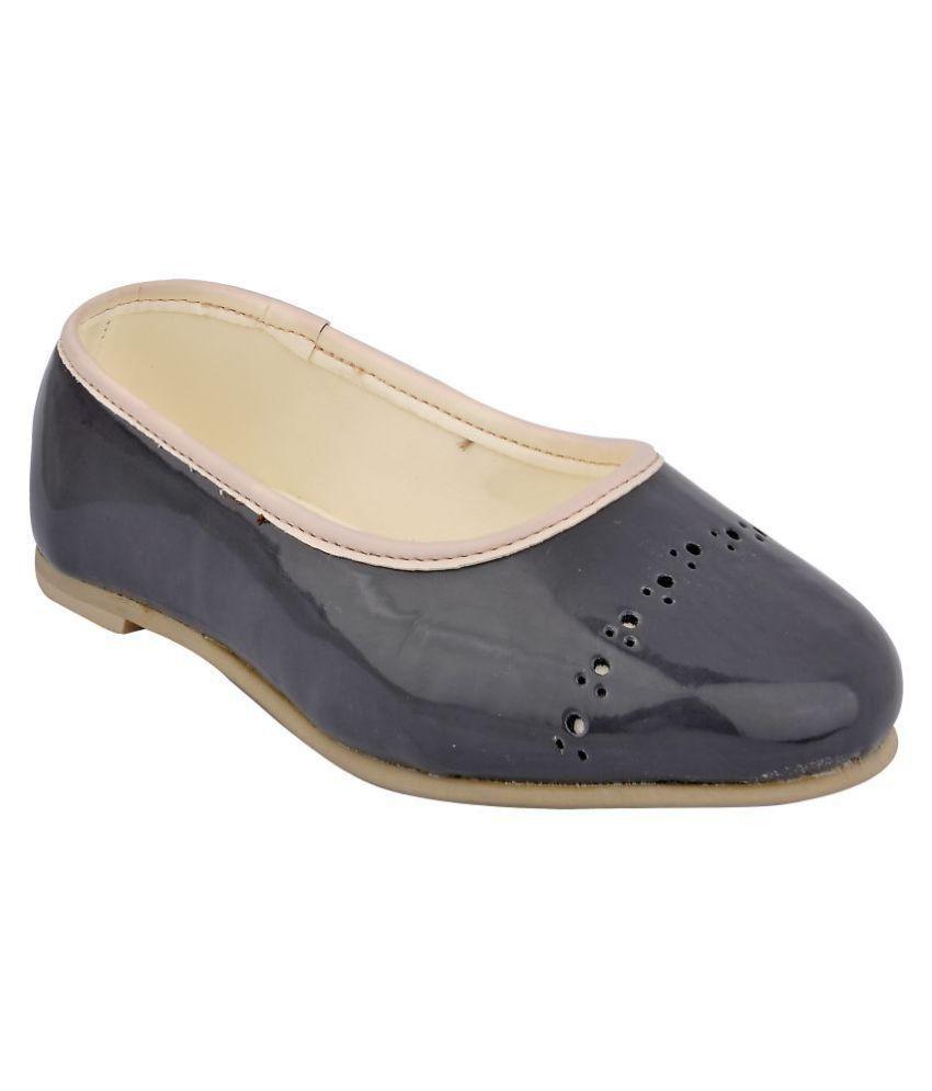 Beanz Ballerina Gray Casual Kids Footwear