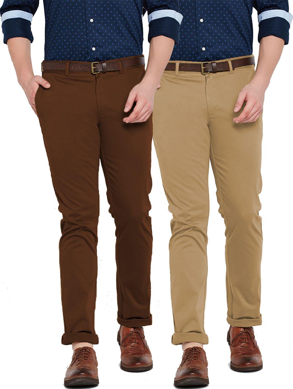 Van Galis Multicolored Regular -Fit Flat Trousers