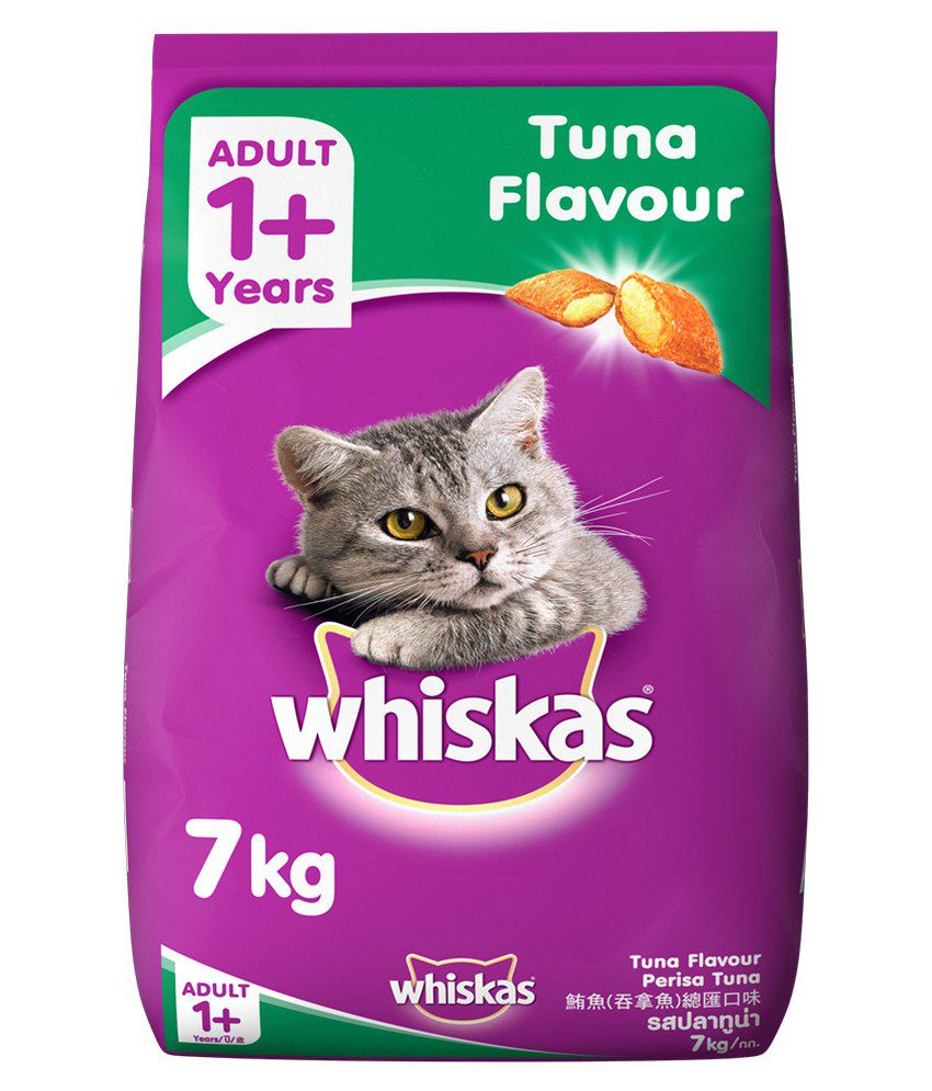 Whiskas adult cat food tuna fish 7kg buy whiskas adult for Is tuna fish good for cats
