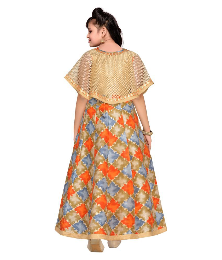 4200ca437 Adiva Girl's Party Wear Poncho Dress For Kids - Buy Adiva Girl's ...