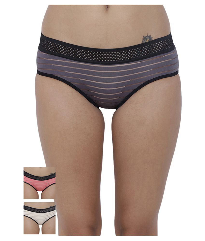 BASIICS by La Intimo Polyester Briefs