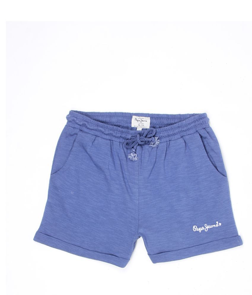 Pepe Jeans Girls Blue Short