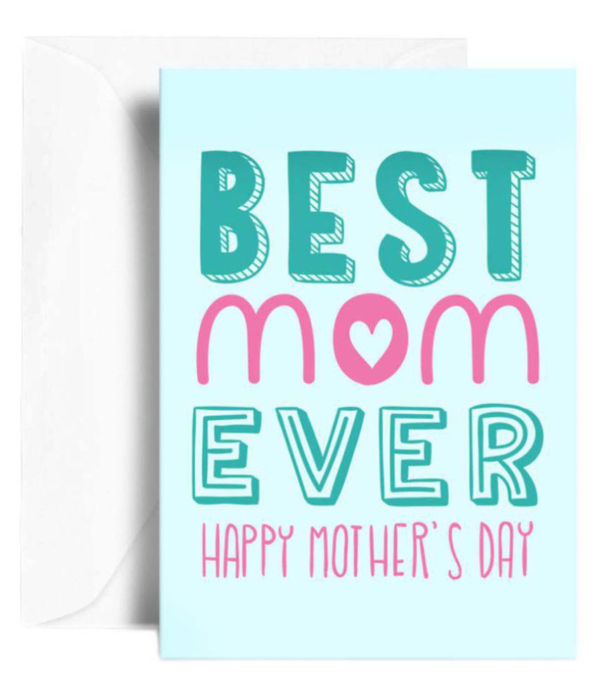 Kaarti Mothers Day Greeting Card - SK0777: Buy Online at Best Price