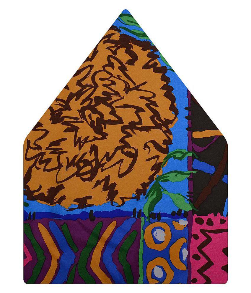Tiekart Multi Funky Silk Pocket Square for Men