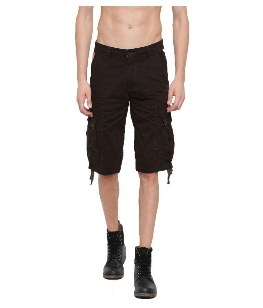 SPORTS 52 WEAR Brown Shorts