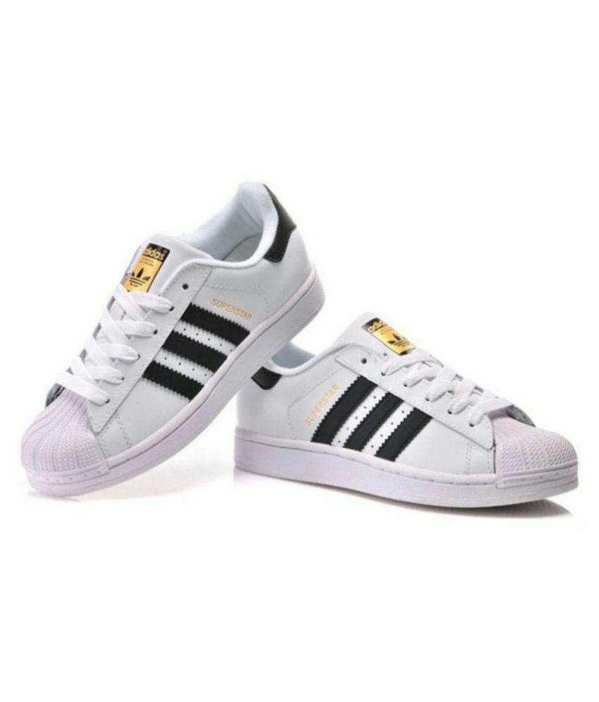 Adidas Superstar I Casual Shoes Little Kids Size 10 White