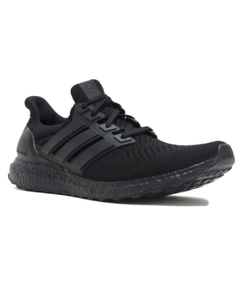 best website 07fc0 208cd Adidas Ultra Boost Black Running Shoes - Buy Adidas Ultra Boost Black  Running Shoes Online at Best Prices in India on Snapdeal