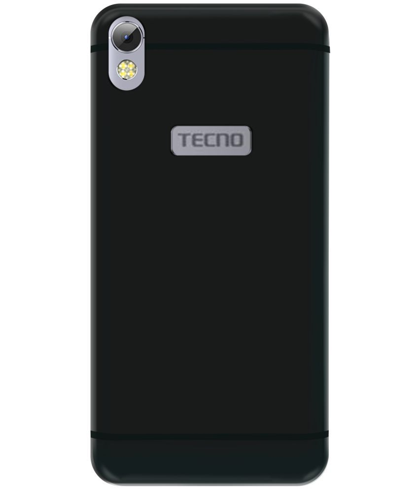 a279072c0f TECNO I3 Plain Cases Mobik - Black - Plain Back Covers Online at Low Prices    Snapdeal India