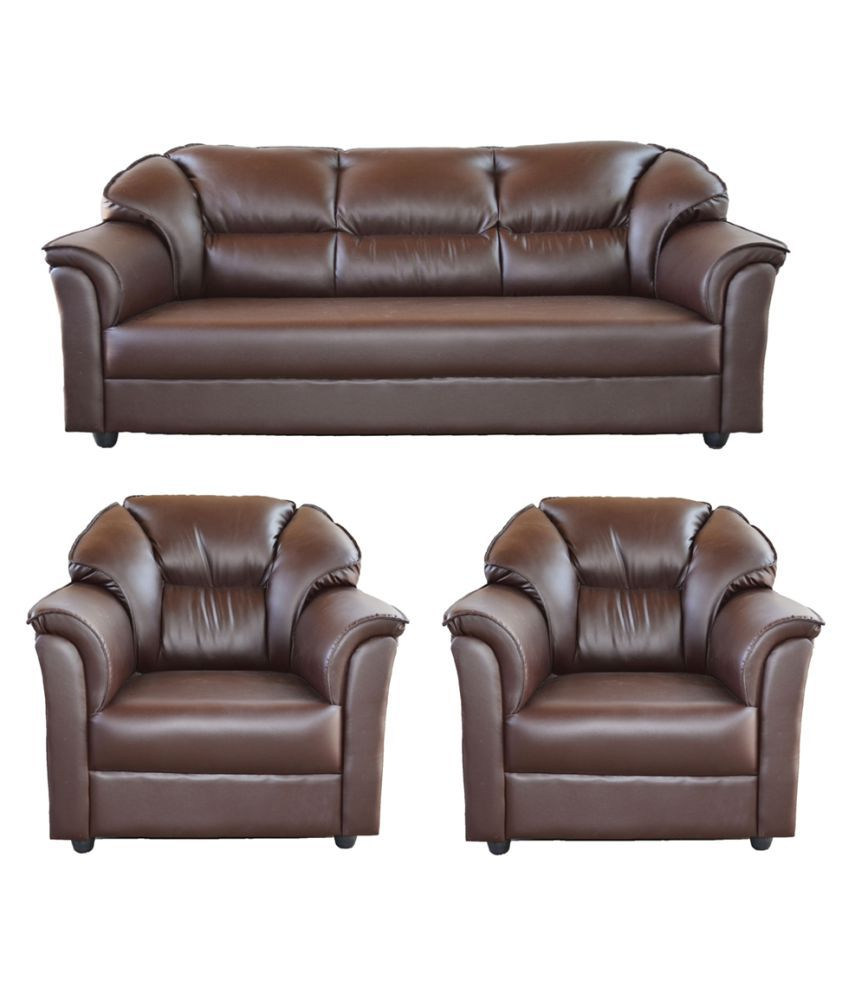 gioteak manhattan brown 5 seater sofa set 3 1 1 buy gioteak manhattan brown 5 seater sofa set. Black Bedroom Furniture Sets. Home Design Ideas