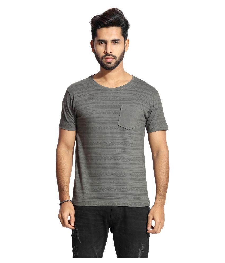 Handgrip Brown Round T-Shirt Pack of 1