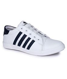 Do Bhai Sneakers White Casual Shoes