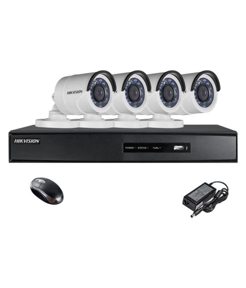 7139bfde184 Hikvision 4 CCTV Camera