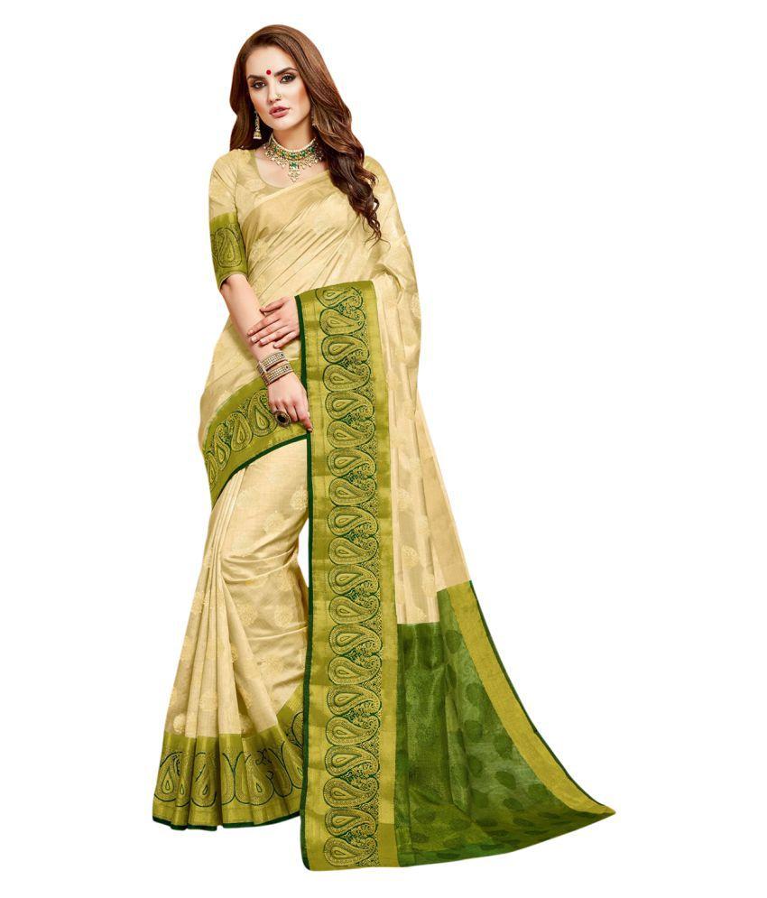85ecc70fa89 Ashika Beige Tussar Silk Saree - Buy Ashika Beige Tussar Silk Saree Online  at Low Price - Snapdeal.com