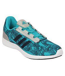 Adidas Blue Running Shoes