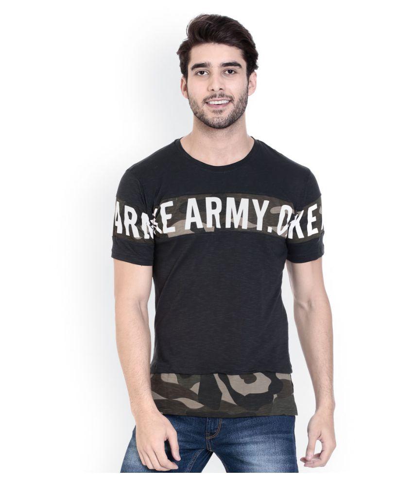 ROCX Black Round T-Shirt