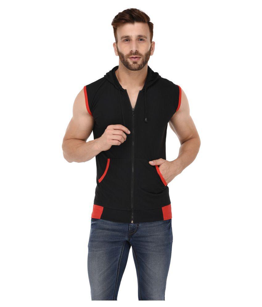 Bigidea Black Hooded T-Shirt Pack of 1