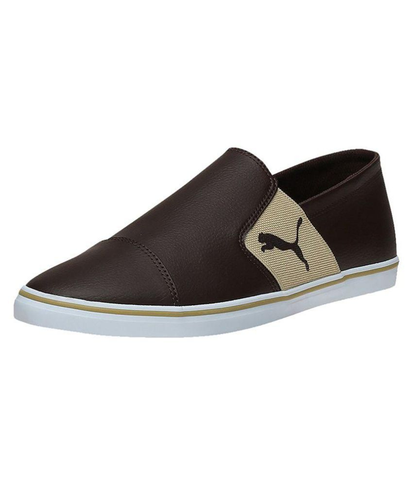 f4545703c4a Puma elsu v2 sl dp Sneakers Brown Casual Shoes - Buy Puma elsu v2 sl dp  Sneakers Brown Casual Shoes Online at Best Prices in India on Snapdeal