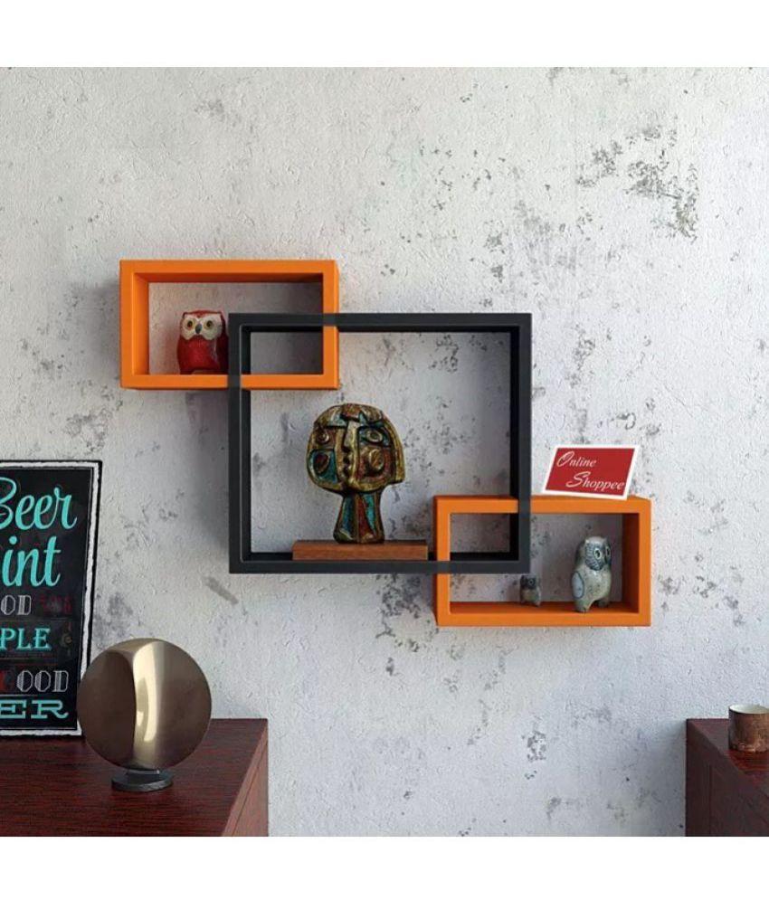 Onlineshoppee Floating Shelf/ Wall Shelf / Storage Shelf/ Decoration Shelf Multicolour - Pack of 1