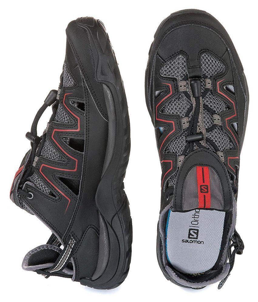 Salomon CUZAMA Quite Black Hiking Shoes