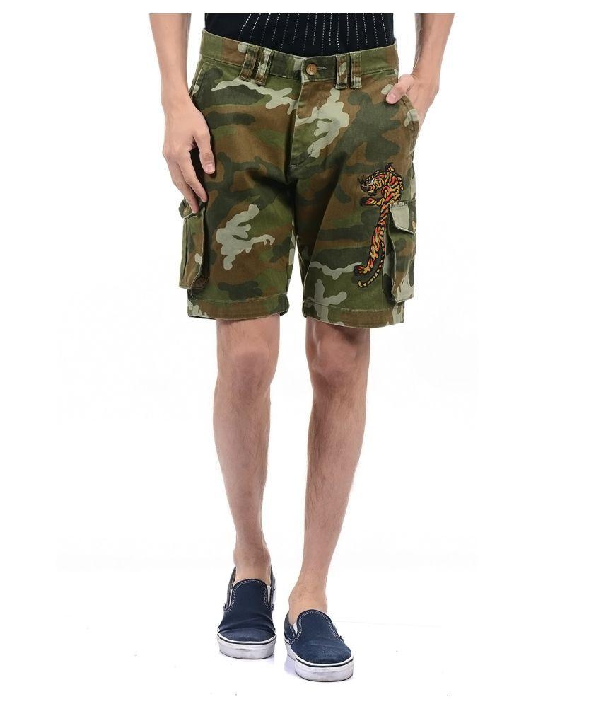 Ed Hardy Green Shorts