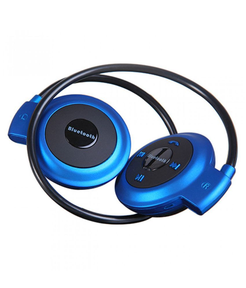 Meckwell Xiaomi Mi 4i  (COMPATIBLE)  Wireless Bluetooth Headphone Blue