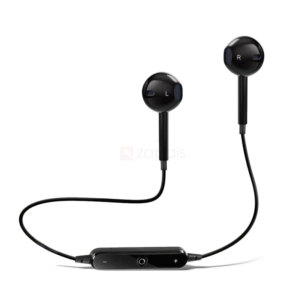 SYL Samsung Galaxy Core Lite   Wired Bluetooth Headphone Black