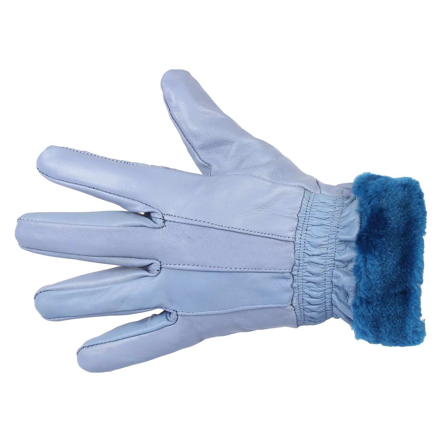 1741016c4 Indian Fashion Sky Blue Leather Gloves For Women: Buy Online at Low Price  in India - Snapdeal