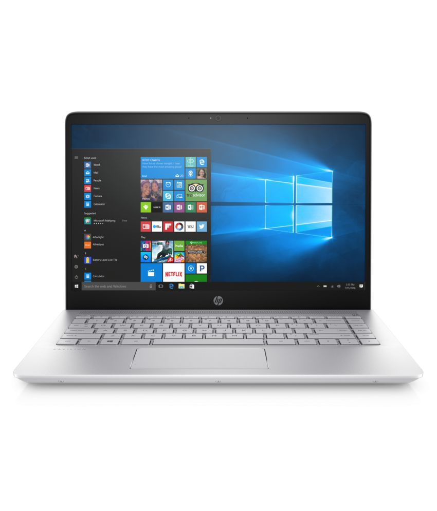 HP Pavilion 14-bf125Tx Notebook Core i5 (6th Generation) 8 GB 39.62cm(15.6) Windows 10 Home without MS Office 2 GB Silver