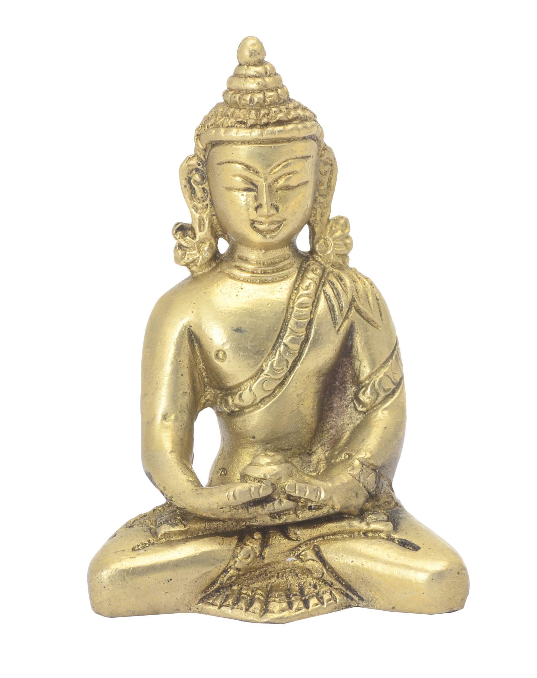 Bharathaat Buddha Brass Idol