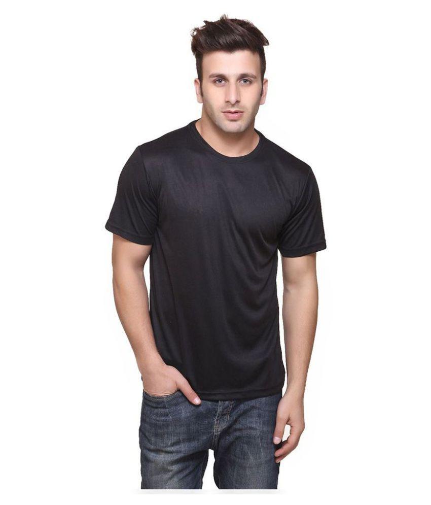 Funky Guys Black Round T-Shirt