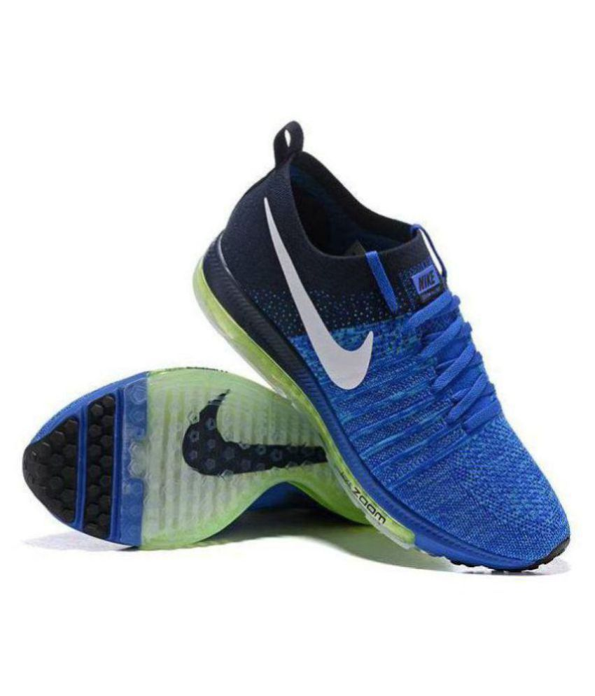 the best attitude fa431 27164 Nike NIKE ZOOM ALL OUT BLUE Blue Running Shoes - Buy Nike NIKE ZOOM ALL OUT  BLUE Blue Running Shoes Online at Best Prices in India on Snapdeal
