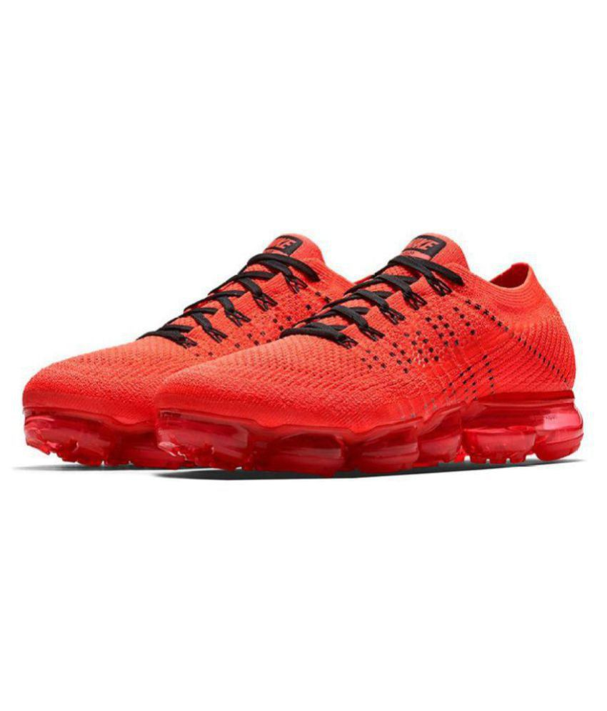 finest selection eedfc 76436 Nike Vapormax 2018 Red Running Shoes