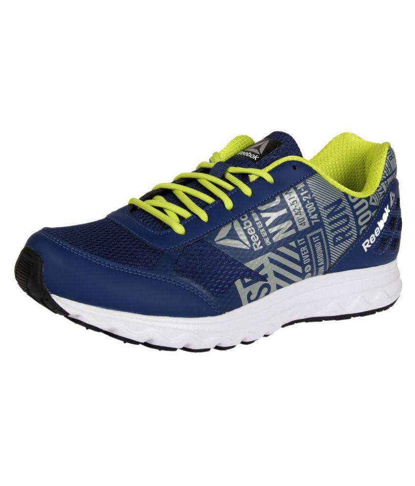 f4763fbaf53 Reebok RUN VOYAGER LP Blue Running Shoes - Buy Reebok RUN VOYAGER LP ...