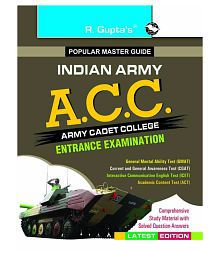 Army Cadet College (ACC) Entrance Exam Guide (Big Size)