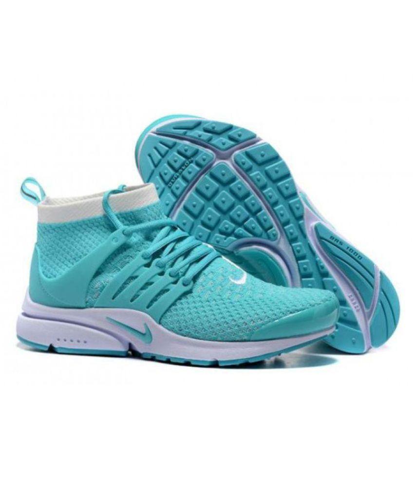 Nike Air Presto Ultra Flyknite Green Running Shoes ...