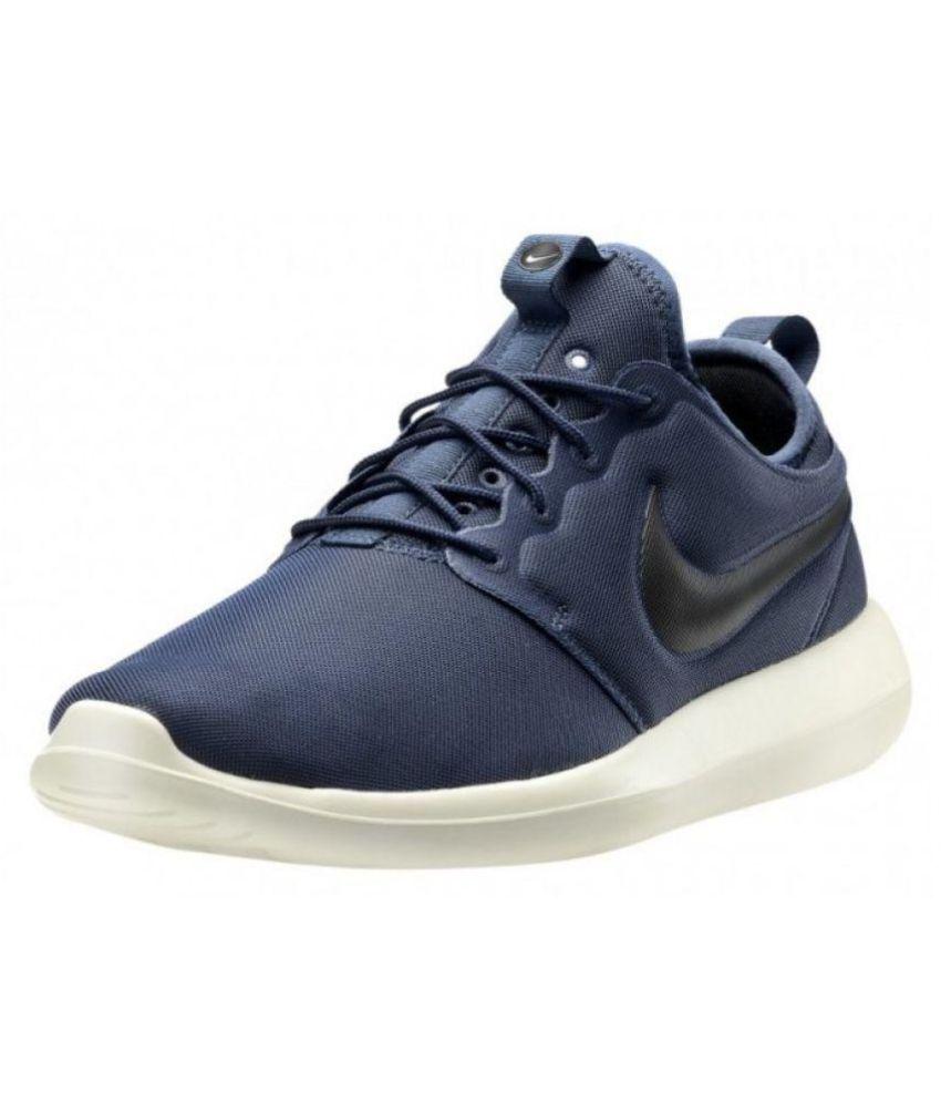 super popular 46c20 4b1b6 Nike Roshe Two Blue Running Shoes