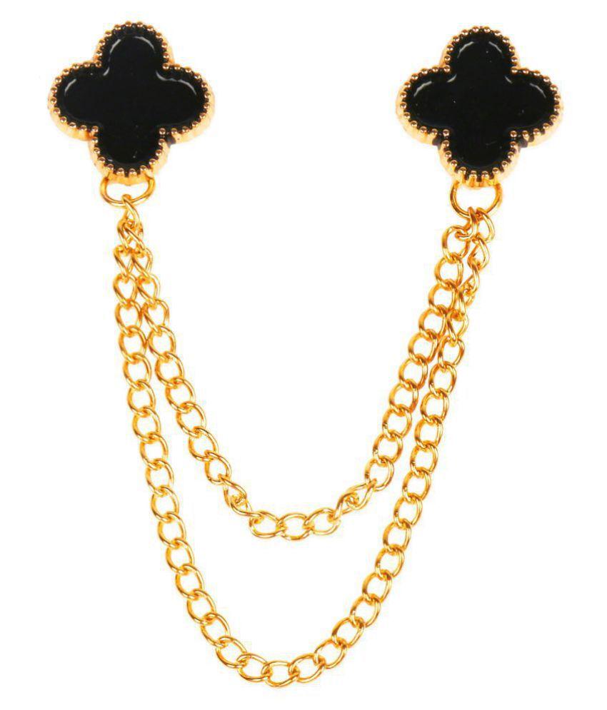Shining Jewel Stylish And Fancy Sherwani Blazer Brooch For Men (SJ_9016)