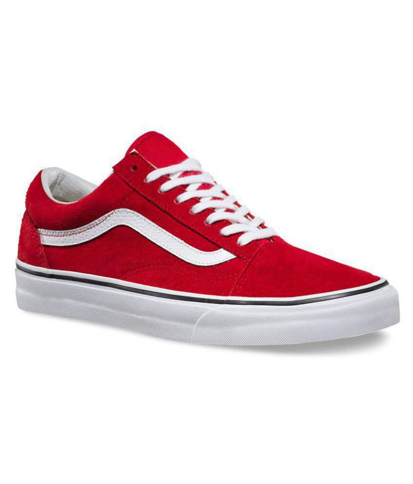 2015 new VANS Old Skool Sneakers Red Casual Shoes cheap pictures Zn9rXfg