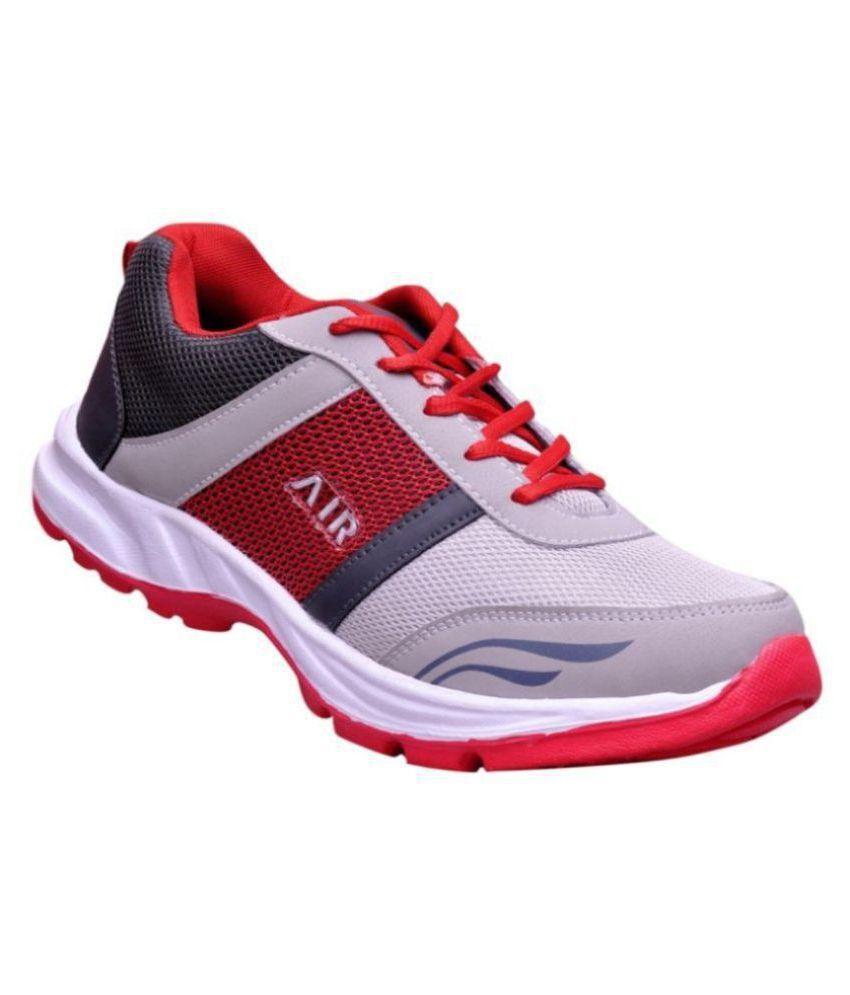 Akaira Vivo Red Red Training Shoes