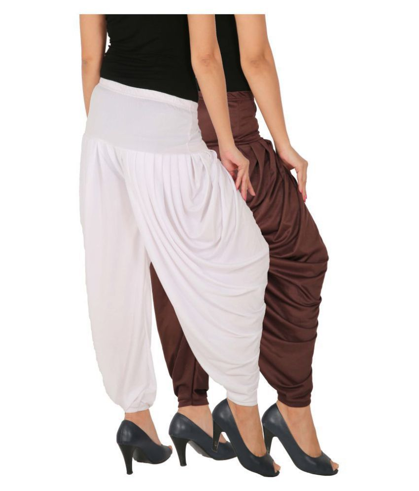 Culture the Dignity Lycra Pack of 2 Patiala