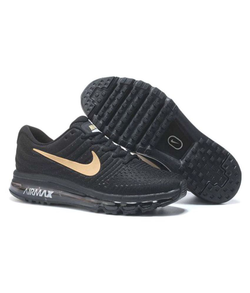 best loved 6267b 75f8d ... Nike AIRMAX 2017 ALL COLOUR Gold Running Shoes ...