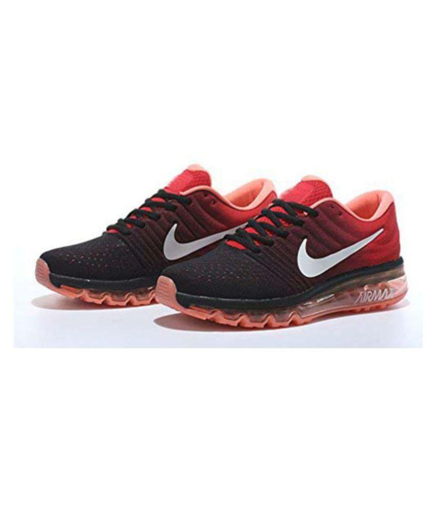 free shipping 76611 3e6e2 ... ireland nike airmax 2017 all colour orange running shoes buy nike  airmax 2017 all colour orange